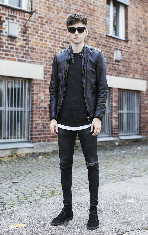 The Rock nu0026#39; Roll/Punk u0026 Sporty Chic Styles For Men | WardrobeLooks.com