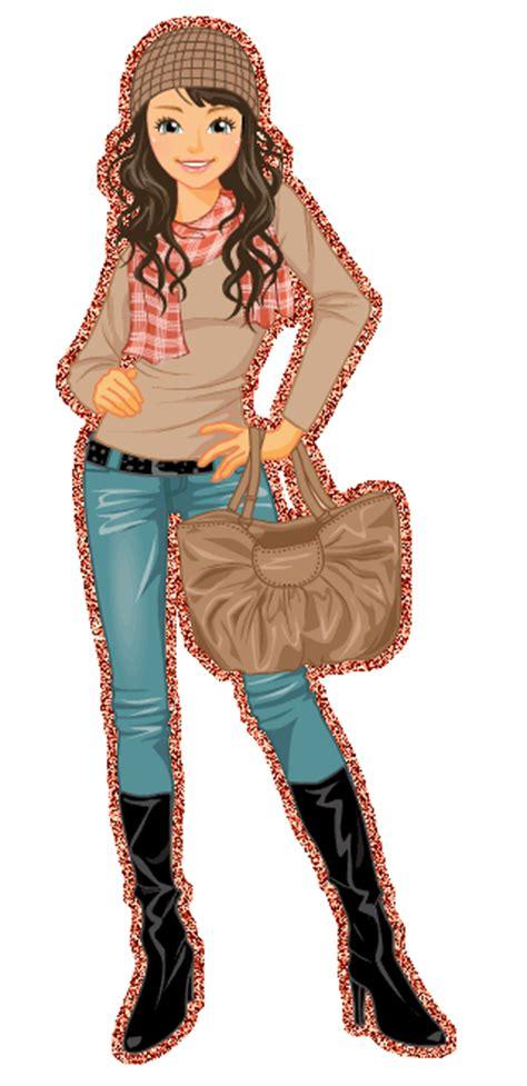 image cute girl  girl animated glitter gif images