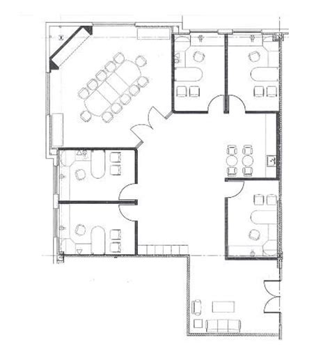 the house drawing plan layout 4 small offices floor plans sle floor plan drawings