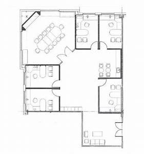 4 Small Offices Floor Plans   Sample Floor Plan Drawings ...