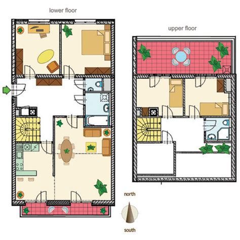 house plans with basement apartments 2446