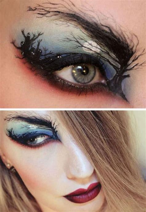 scary halloween zombie eye    ideas