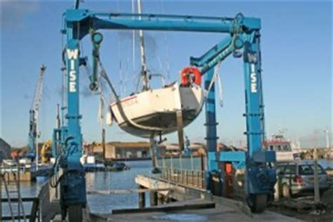 Boat Lift Out Of Water by Boat Lift Royal Northumberland Yacht Club