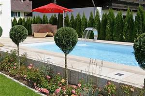 Schwimmbecken Im Garten : 22 best images about exclusive outdoor pools on pinterest ~ Sanjose-hotels-ca.com Haus und Dekorationen