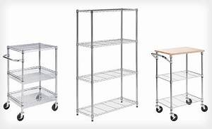 four tier shelving unit only 59 shipped was 115 With wiring money cvs