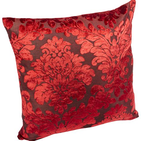traditional damask cushion cover faux velvet home