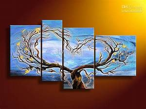 Best Quality Hand Painted Hi Q Modern Home Abstract Oil ...