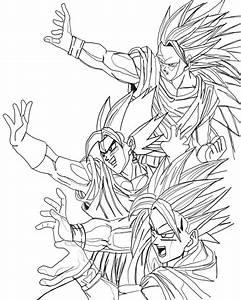 Goku frases para colorear - Imagui