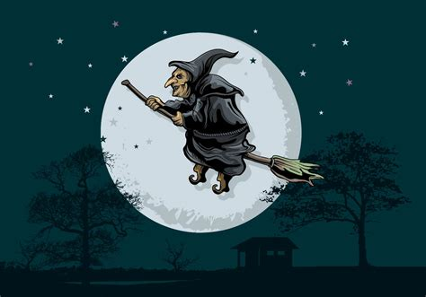 clipart befana scary forest free vector 3352 free downloads