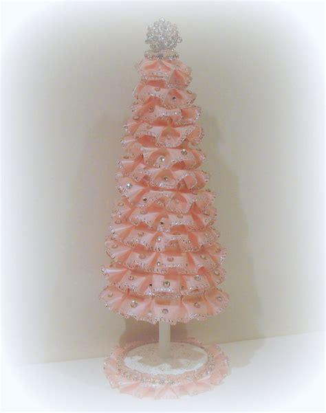 shabby chic tree shabby chic christmas tree christmas shabby chic decor crafts pinterest trees chic