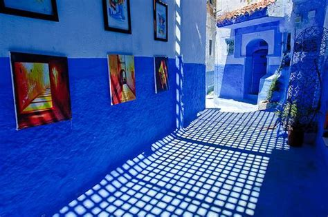 moroccan decor blue color bring cool moroccan style modern home decorating