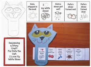 pete the cat i my white shoes picture story sequence cards printable search results