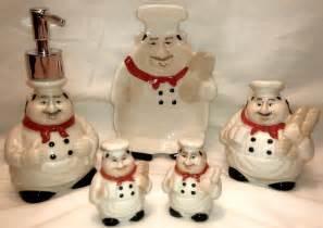 fat chef french cafe baker italian bistro ceramic decor