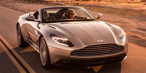 Aston Martin Db11 Volante Is A Sleek, Sculpted Opentop