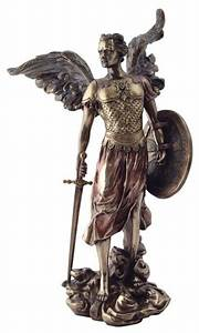 13.5 Inch Archangel Michael Statue with Shield and Sword ...