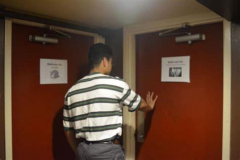 lack   gender restrooms excludes lgbt community