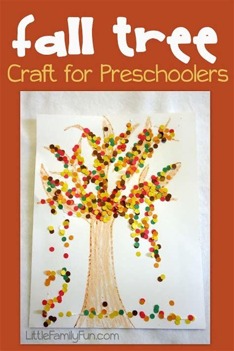 easy  cute preschool craft  fall preschool