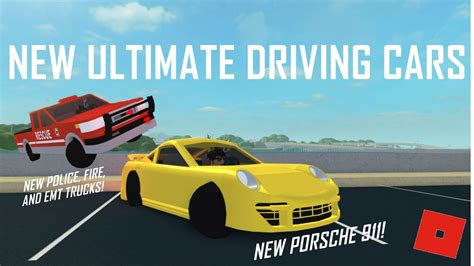 cars  ultimate driving roblox ultimate