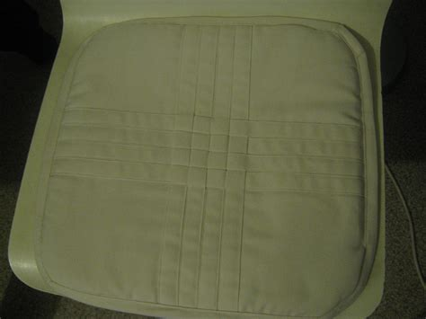 galette de chaise d houssable confection galette de chaise mes réalisations