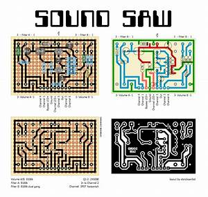 Perf And Pcb Effects Layouts  Death By Audio Sound Saw