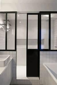 appartement sur mesure dix heures dix With porte de douche coulissante avec mobilier de salle de bain haut de gamme
