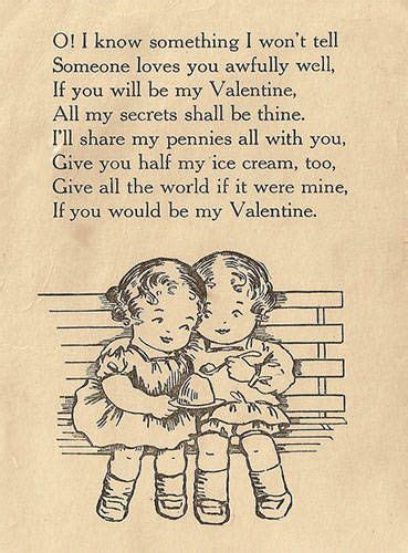 Cute Valentine's Day Poems for Kids