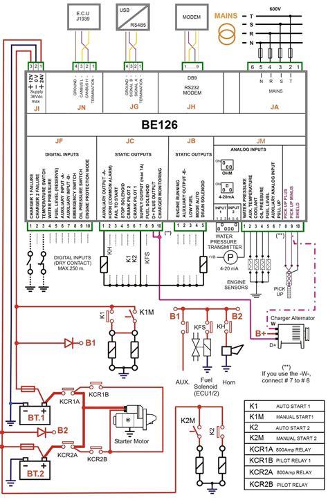Pump Control Panel Wiring Diagram Schematic Free