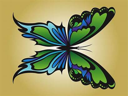 Butterfly Vector Clipart Graphics Wings Realistic Freevector