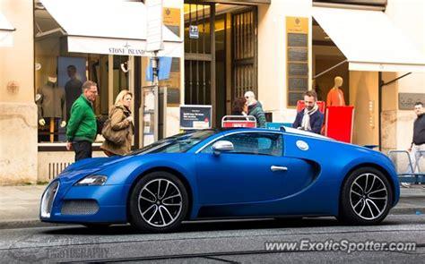 Bugatti Veyron Spotted In Munich, Germany On 04/02/2016