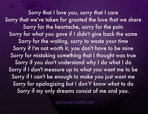 I Am Sorry Quotes For Friends. QuotesGram