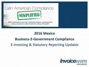 Mexico SAT Electronic Invoicing Updates
