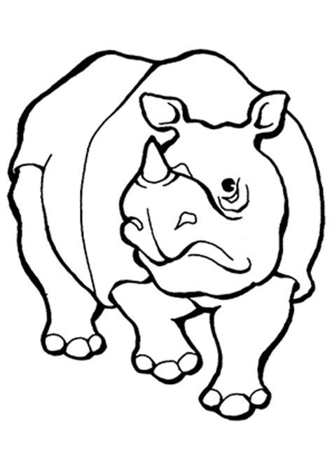ausmalbilder trauriges nashorn nashoerner malvorlagen