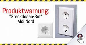 Steckdosen Set Einfamilienhaus : produktwarnung steckdosen set aldi nord mimikama ~ Lizthompson.info Haus und Dekorationen