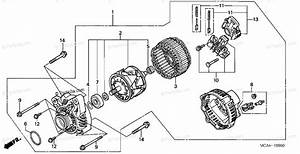 Honda Motorcycle 2002 Oem Parts Diagram For Alternator