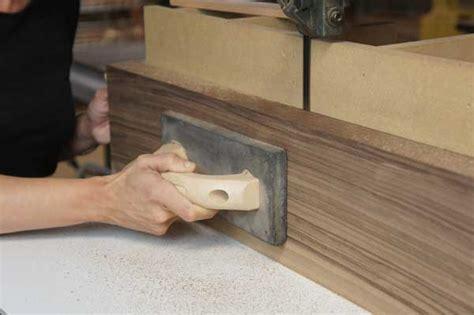 shop sawn veneer  primer  band    veneer prep
