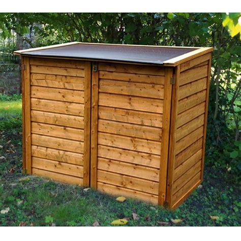 coffre de jardin bois trait 233 trocad 233 ro 1350l plantes et jardins