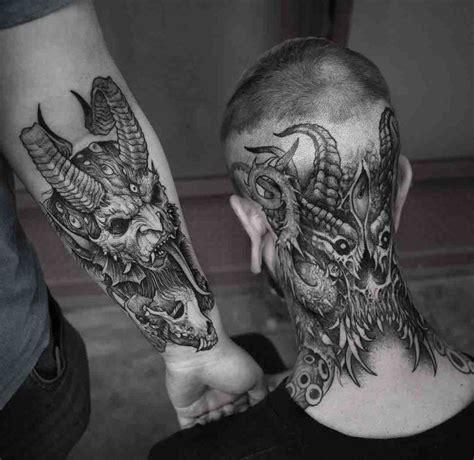 demonic tattoos tattoo tattoo hals tattoo vorlagen