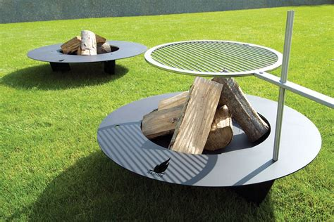 pit with grill pit is a accent for your backyard