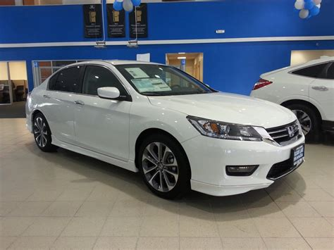 2014 Accord Sport Sedan With Optional Under Body Spoilers