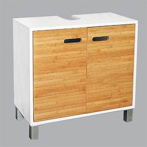 Meuble Dessous De Lavabo : meuble dessous lavabo sweden blanc ~ Melissatoandfro.com Idées de Décoration
