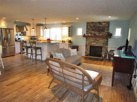 wonderfully spacious open floor plan beachy living room cape  vacation rentals holiday