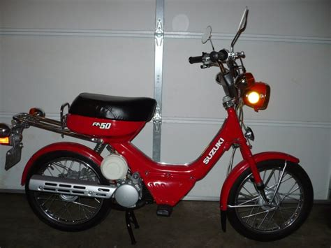 Fa50 Suzuki by 1983 Suzuki Fa50 Moped Photos Moped Army