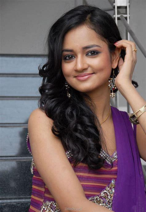 South Actress Shanvi Purple Dress Pics   XciteFun.net