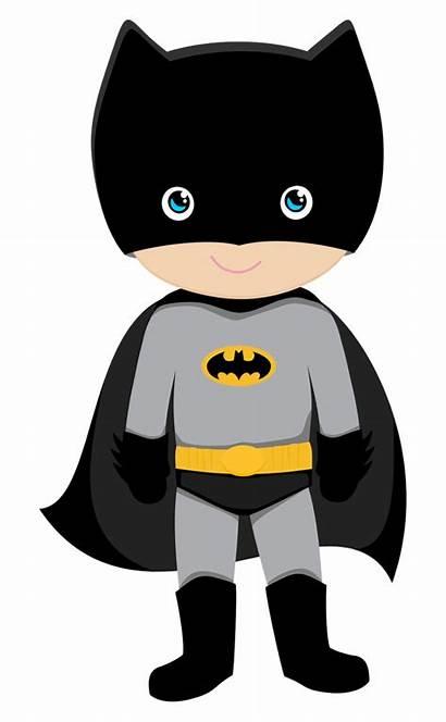 Batman Superhero Clipart Printable Minus Super Theme