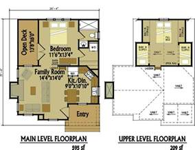 cabin floorplan small cottage floor plan with loft small cottage designs