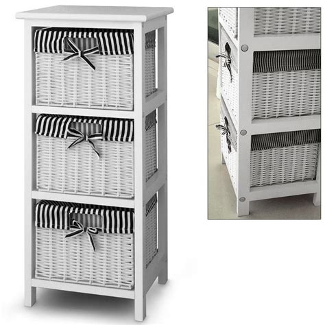 storage cabinets with wicker baskets 3 drawer storage cabinet with 3 baskets shelf storage