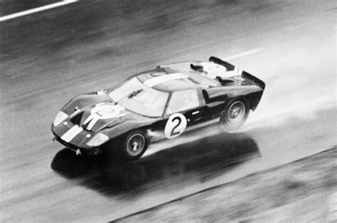 Ford and ferrari jockey for position during the typically chaotic le mans start. Ford Vs. Ferrari Origins: The Le Mans Committee - Victory in 1966