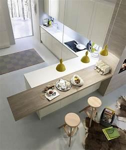 ilot cuisine design decouvrez la peninsule de cuisine With plan de travail design cuisine