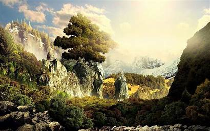 Fantasy Landscape Wallpapers Desktop Backgrounds Widescreen