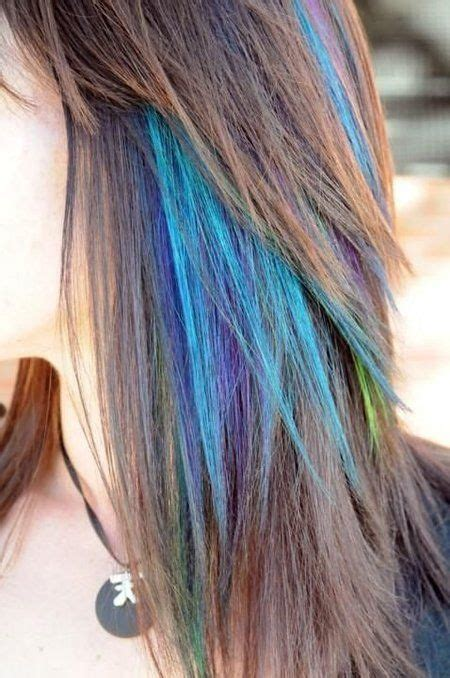 25 Best Ideas About Blue Hair Streaks On Pinterest